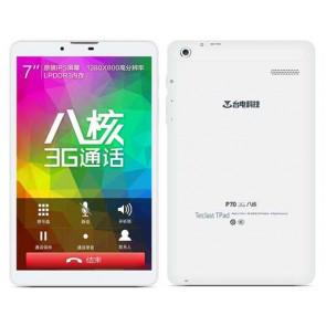 Teclast P70 3G 64 Bit MT8392 Octa Core Android 4.4 Phablet 7 Inch IPS HD Screen 1GB 8GB Dual camera GPS White