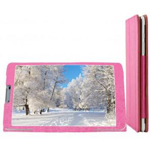 Original Leather Case for Teclast P80 3G 8.0 Inch Tablet Pink