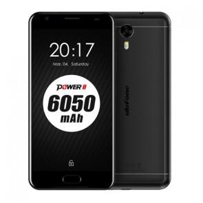 Ulefone Power 2 4GB 64GB MT6750T Octa Core Android 7.0 4G LTE Smartphone 5.5 inch 13MP Camera 6050mAh Black