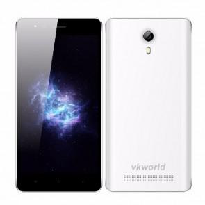 VKworld F1 MTK6580 Quad Core Android 5.1 Smartphone 4.5 inch 3G GPS 1GB 8GB 5MP Camera White