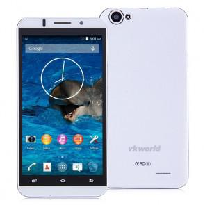 VKworld VK700 1GB 8GB MTK6582 Quad core Android 4.4 3G Smartphone 5.5 Inch 13MP Camera White