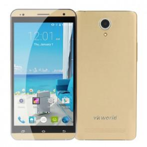 VKworld VK700 Pro MTK6582 Quad core Android 4.4 1GB 8GB Smartphone 5.5 Inch 13MP Camera Gold