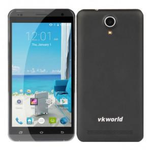 VKworld VK700 Pro MTK6582 Android 4.4 1GB 8GB Smartphone 5.5 Inch 3200mAh Battery Black