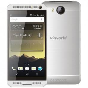VKworld VK800X MTK6580 Quad Core 3G Android 5.1 Smartphone 1GB 8GB 5.0 inch 8MP Camera Silver