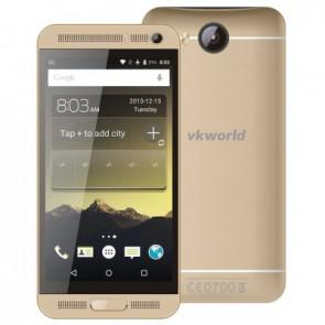 VKworld VK800X 3G Smartphone MTK6580 Quad Core Android 5.1 1GB 8GB 5.0 inch 8MP Camera Gold