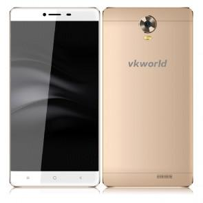 VKworld T1 4G LTE 2GB 16GB MTK6735 Android 5.1 Smartphone 5.5 Inch 13MP Camera Gold