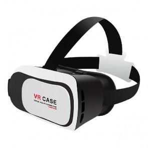 VR Case 3D VR RK3Plus Virtual Reality Headset IPD Focus Adjust FOV90 Gamepad for 3.5 - 6 inch Smartphones