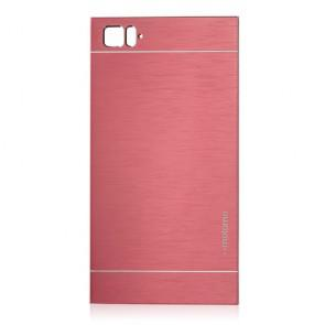 Ultra Thin Metal Wire Drawing Phone Case for XiaoMi MI3 Smartphone Pink