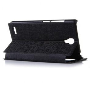 Xiaomi Hongmi Note Original Leather Flip Cover Case Stand Case Black