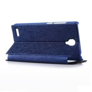 Xiaomi Hongmi Note Original Leather Flip Cover Case Stand Case Dark Blue