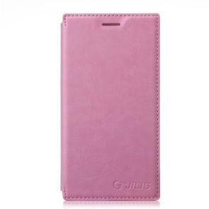 XIAOMI MI3 Original Leather Flip Cover Case Stand Case Pink