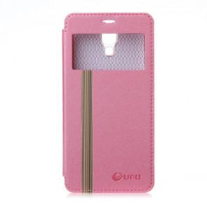 Original Leather Flip Cover Case Stand Case for XIAOMI MI4 Smartphone Pink
