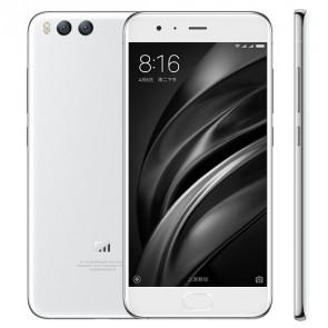 Xiaomi Mi6 Snapdragon 835 6GB 128GB 4G LTE Smartphone 5.15 Inch dual 12MP rear Camera NFC fast charge White